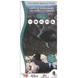 Carte de randonnées des...