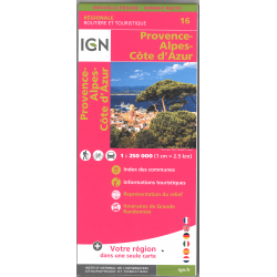 IGN Provence Alpes Côte d'Azur