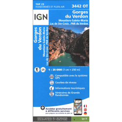 IGN Moustiers-Sainte-Marie